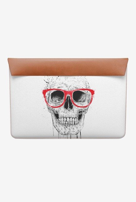 DailyObjects Skull Red Glass MacBook 12 Envelope Sleeve