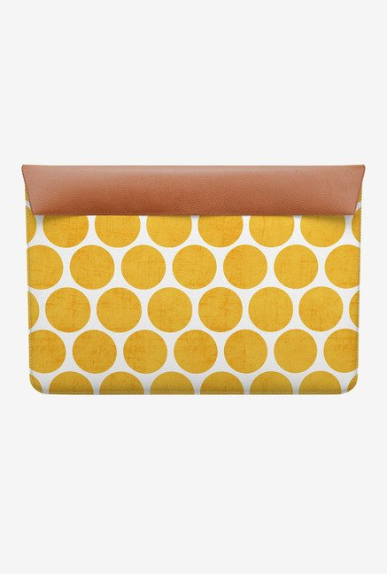 DailyObjects Yellow Dots MacBook 12 Envelope Sleeve