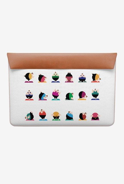 DailyObjects Yoga Girls Pose MacBook Air 13 Envelope Sleeve