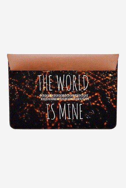 DailyObjects World is mine MacBook 12 Envelope Sleeve