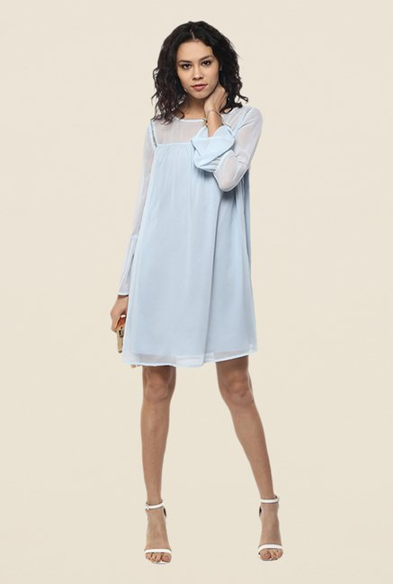 Femella Sky Blue Shift Dress