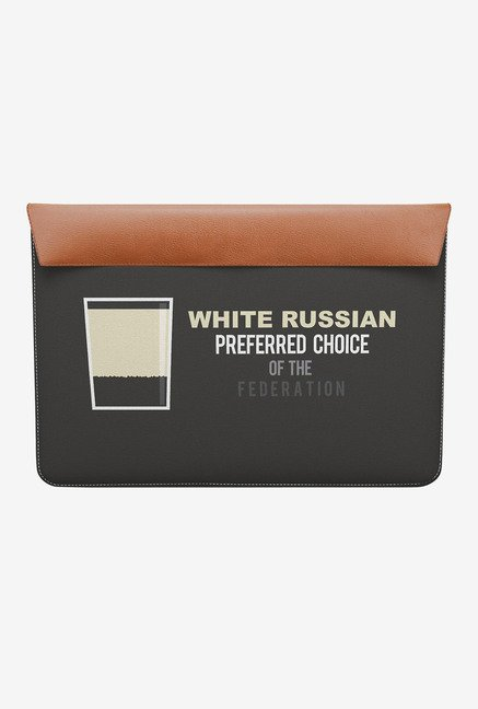 DailyObjects White Russian MacBook Air 11 Envelope Sleeve