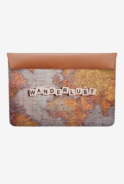 DailyObjects Wanderlust Map MacBook Air 11 Envelope Sleeve