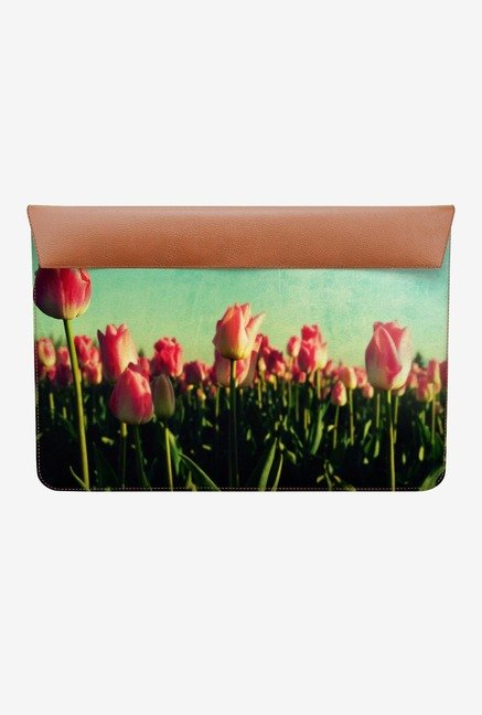 DailyObjects Tulip Garden MacBook Air 11 Envelope Sleeve