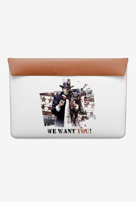 DailyObjects Two Face MacBook Pro 15 Envelope Sleeve