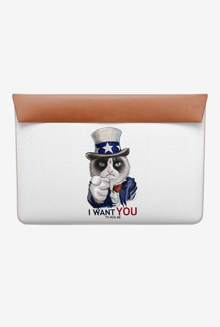 DailyObjects Uncle Sam Cat MacBook Air 11 Envelope Sleeve