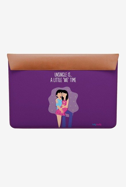 DailyObjects We Time MacBook 12 Envelope Sleeve