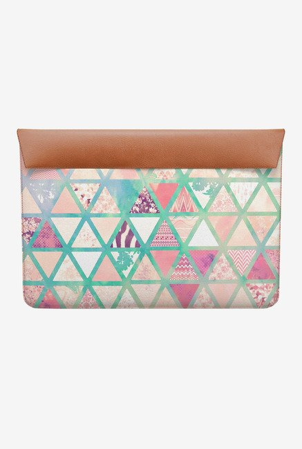 DailyObjects Triangles Patch MacBook Air 11 Envelope Sleeve