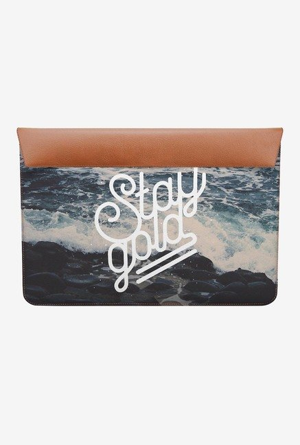 DailyObjects Stay Gold MacBook 12 Envelope Sleeve
