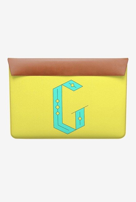 DailyObjects Stylised G MacBook 12 Envelope Sleeve