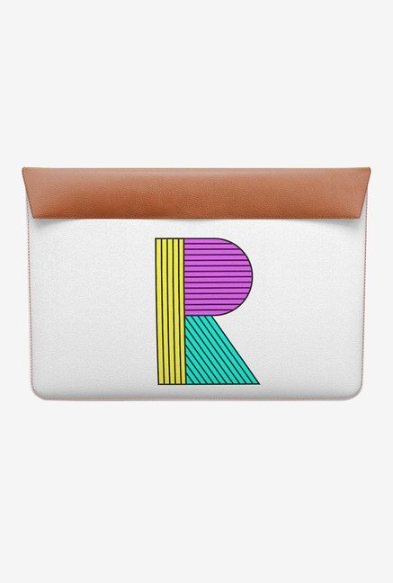 DailyObjects Stylised R MacBook 12 Envelope Sleeve