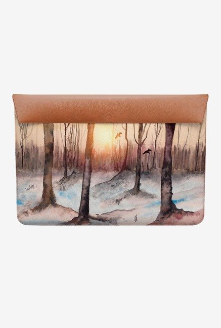 DailyObjects Sunrise in Woods MacBook 12 Envelope Sleeve