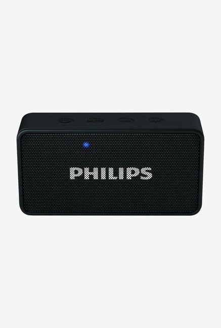 Philips BT64B/94 Wireless Portable Bluetooth Speaker (Black)
