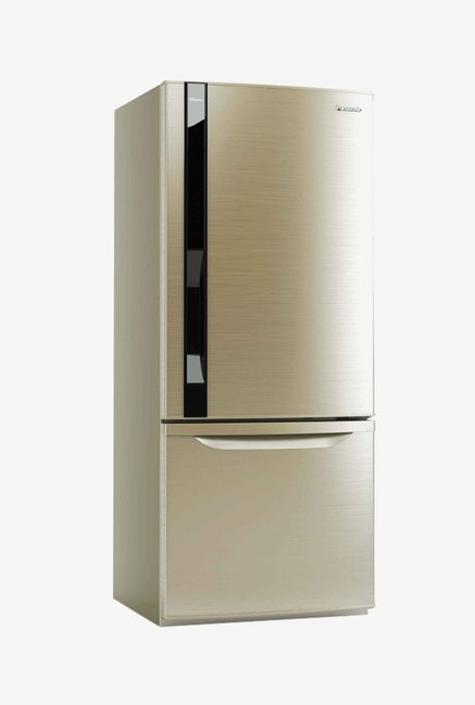 Panasonic NR-BW465VN 400 L Double Door Refrigerator (Gold)