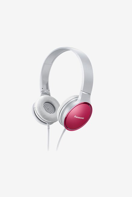 Panasonic RP-HF300 On The Ear Headphones (Pink)