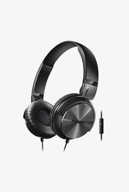 Philips SHL3195 On The Ear Headphones (Black)