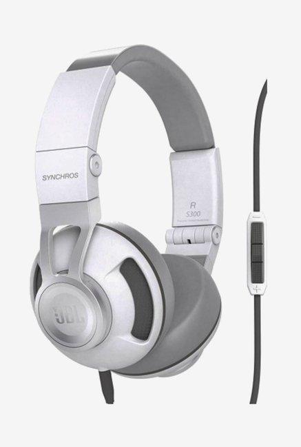 JBL Synchros S300a On The Ear Headphones (Silver)