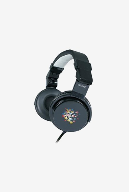 Croma CREA4207 Over The Ear Headphones (Black)