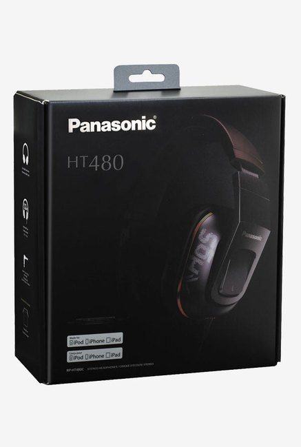 Panasonic RP-HT480C Over The Ear Headphones (White)
