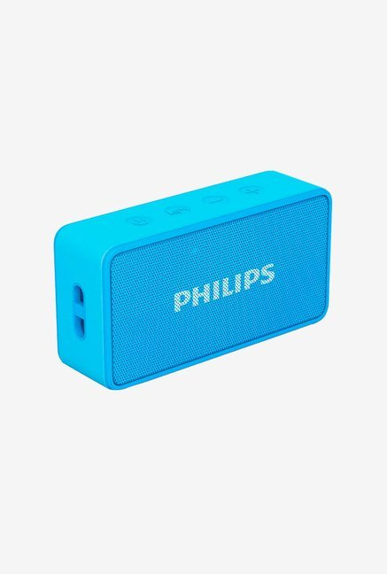 Philips BT64A Bluetooth Speaker (Blue)