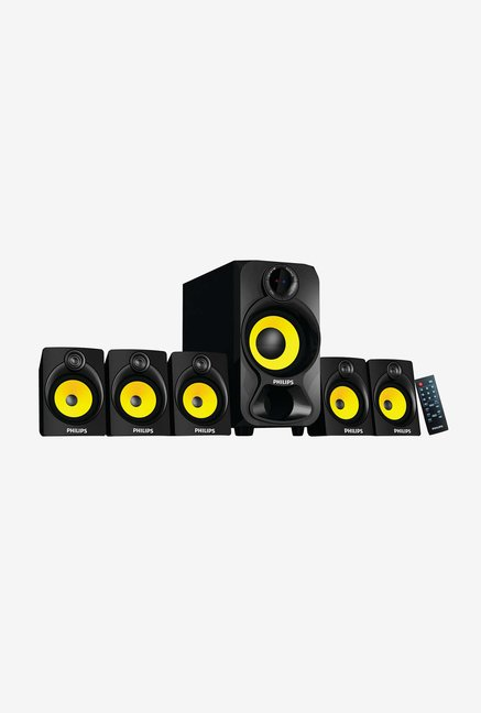 Philips IN-SPA3800B/94 5.1 Home Audio Speaker (Black)