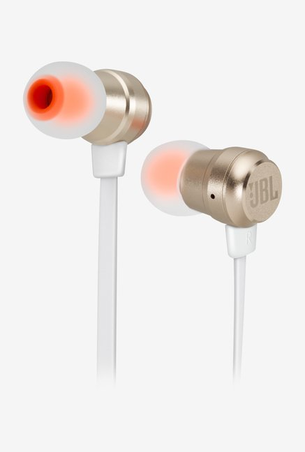 JBL T280A In The Ear Headphones (Golden)