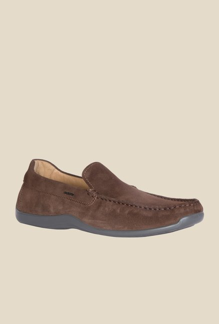 Geox Chestnut Casual Loafers