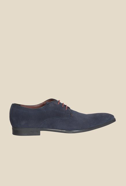 Geox Navy Derby Shoes