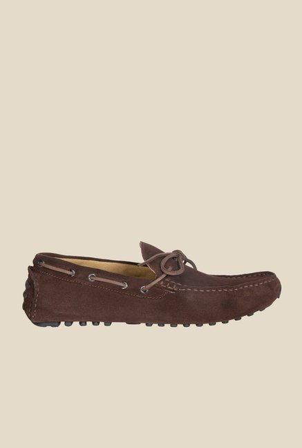 Geox Chestnut Boat Shoes