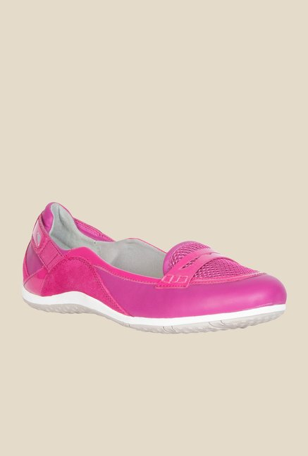 Geox Fuchsia Moccasin Shoes