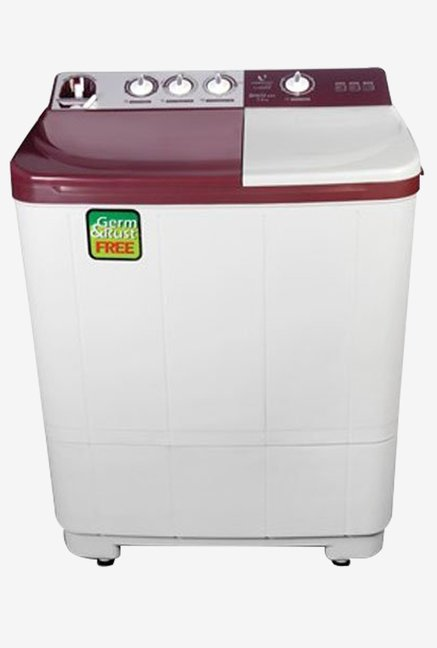 Videocon VS72H13 7.2kg Gracia Exe Semi-automatic (Maroon)