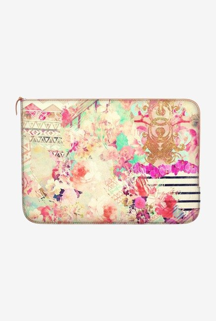 DailyObjects Flowers Mix MacBook 12 Zippered Sleeve