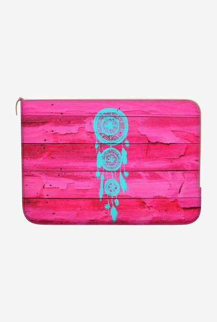 DailyObjects Hipster Teal MacBook 12 Zippered Sleeve