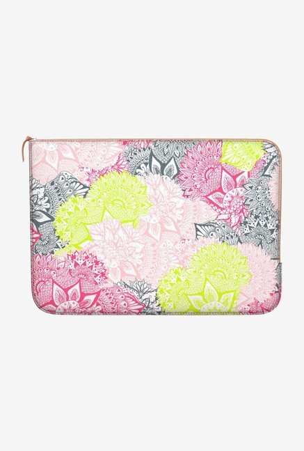DailyObjects Paisley Pattern MacBook 12 Zippered Sleeve