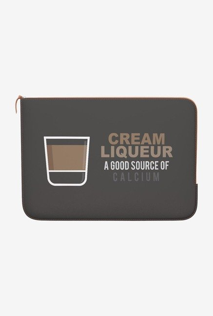DailyObjects Cream MacBook Pro 15 Zippered Sleeve