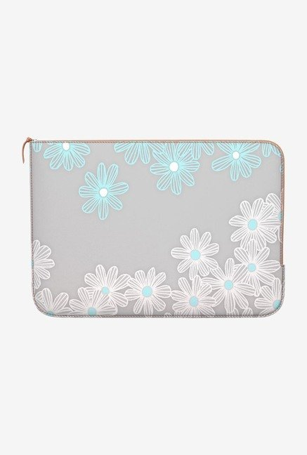 DailyObjects Daisy Dance MacBook Pro 15 Zippered Sleeve