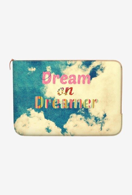 DailyObjects Dream Dreamer MacBook Pro 15 Zippered Sleeve