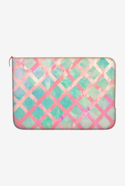 DailyObjects Retro Lattice MacBook Pro 13 Zippered Sleeve