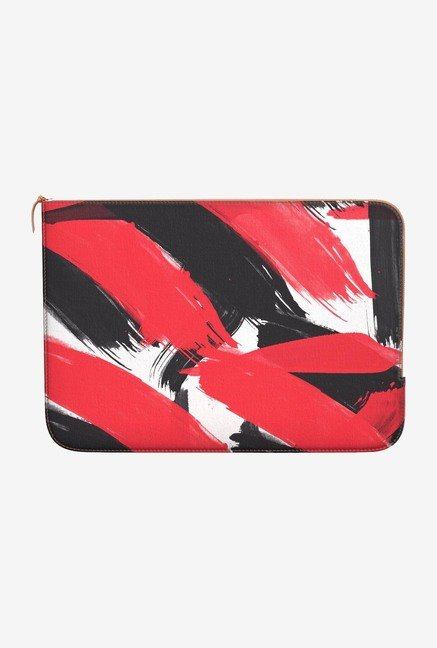 DailyObjects Abstract Black MacBook Air 13 Zippered Sleeve