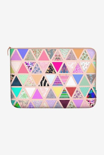DailyObjects Abstract Floral MacBook Air 13 Zippered Sleeve