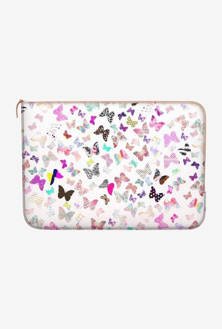 DailyObjects Butterfly MacBook Air 13 Zippered Sleeve