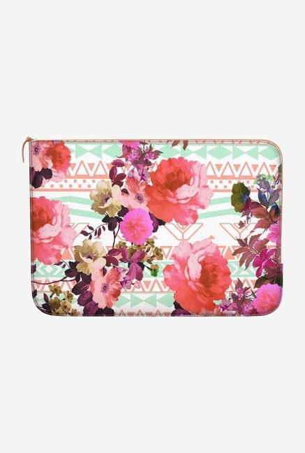 DailyObjects Flower Tribe MacBook Pro 13 Zippered Sleeve
