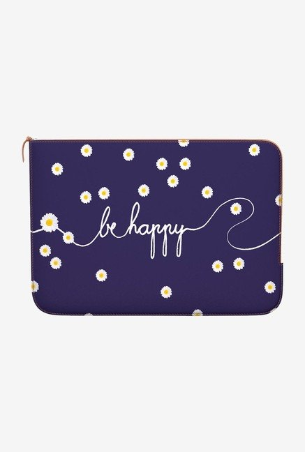DailyObjects Happy Daisy MacBook Air 13 Zippered Sleeve