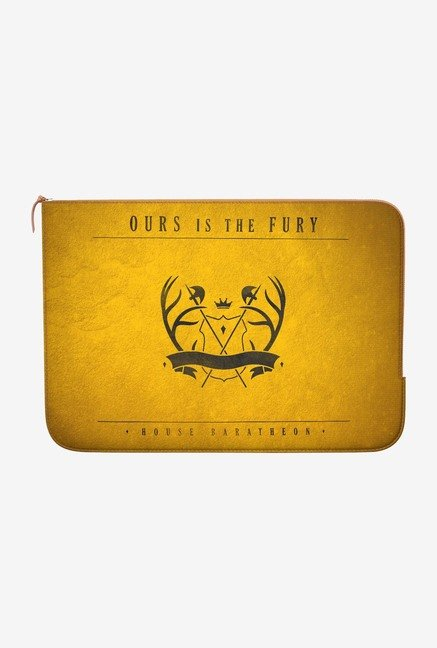 DailyObjects House Baratheon MacBook Pro 15 Zippered Sleeve