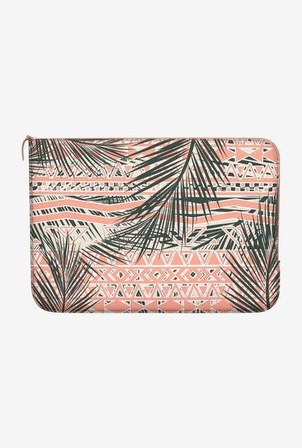 DailyObjects Coral Abstract MacBook Air 11 Zippered Sleeve