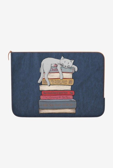 DailyObjects Chill Like Cat MacBook Pro 15 Zippered Sleeve