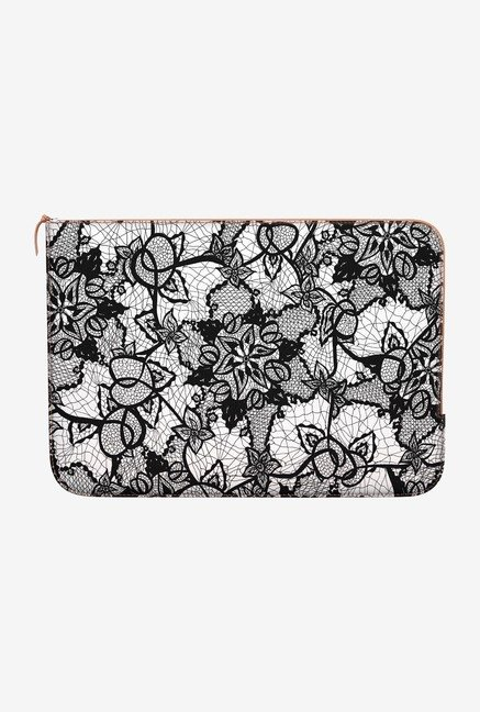 DailyObjects Lace Pattern MacBook Air 11 Zippered Sleeve