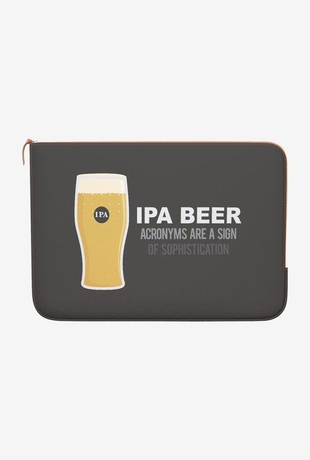 DailyObjects Ipa MacBook Pro 15 Zippered Sleeve