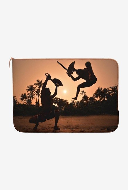 DailyObjects Dangerous Dance MacBook 12 Zippered Sleeve