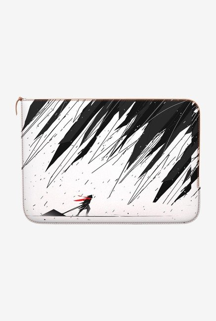 DailyObjects Geometric Storm MacBook Pro 13 Zippered Sleeve